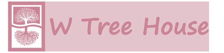 W Tree House ロゴ b88193